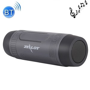 Luce Torcia Bici Altoparlante Speaker Bluetooth IP57 Radio FM 4000mAh