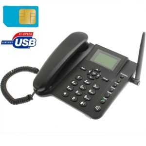 [IT] Landline Telephone DUAL SIM GSM Table Desk